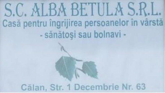 Casa pentru persoane varstnice ALBA BETULA